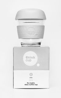 Think Cup in stone 8oz