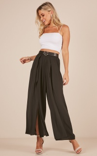 Back You Up pants in black