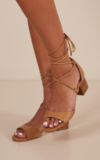 Verali - Elki Heels in tan