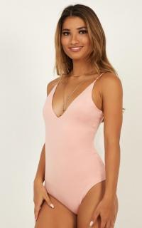 Admirable Bodysuit In Blush