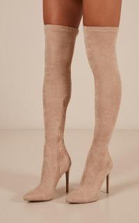 Billini - Romi boots in stone micro