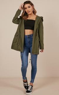 Nonstop jacket in khaki