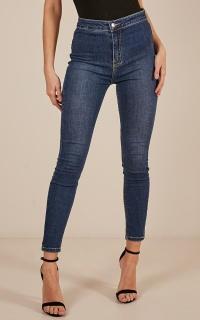 Sally skinny jeans in dark wash
