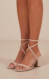 Billini - Calvi heels in nude micro