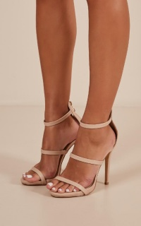 Billini - Delta heels in nude