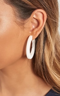 Believe In You Earrings In White