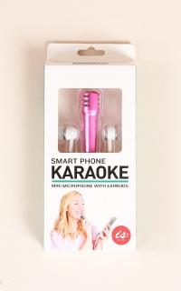 Smart Phone Karaoke in pink