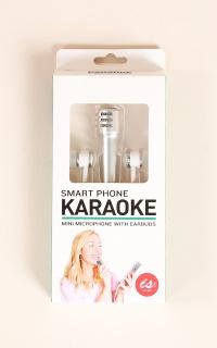 Smart Phone Karaoke in silver
