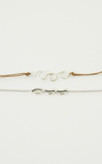 Light In Me Anklet In Silver