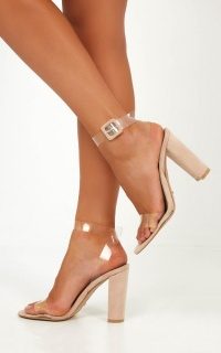 Billini - Jaz Heels In Blush Micro