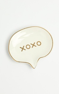XOXO Trinket Tray In White