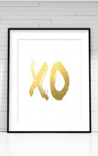 XO White Print in A4