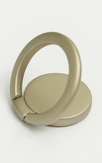 Smart Phone Ring Holder In Silver