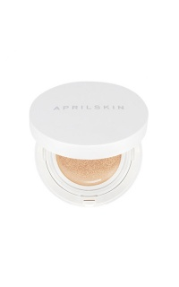 April Skin - Magic Snow foundation cushion in light beige #21