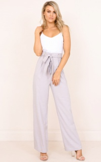 The Best Day jumpsuit in grey