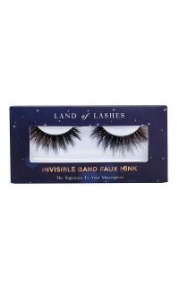 Land of Lashes - Invisible Band Faux Mink In Maya