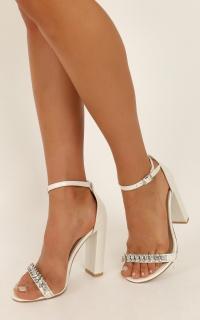 Billini - Laine Heels In white pearl