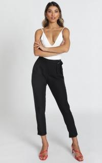 Key To Success Pants In Black