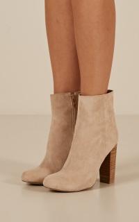 Billini - Lia Boots In Stone Micro