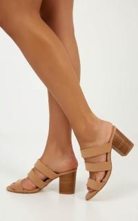Billini - Cipriana Heels In Camel Nubuck