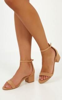 Billini - Marcella Heels in Camel Nubuck