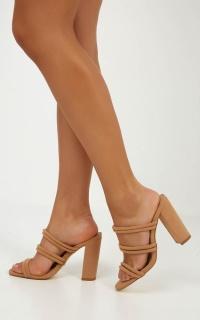 Billini - Ora Heels In Camel Nubuck