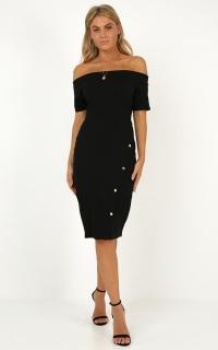 Dress Coded Dress In Black