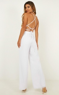 Dream Of Jumpsuit In White