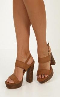 Billini - Estella Heels in Tan