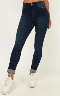 Kacie Skinny Jeans In Dark Wash