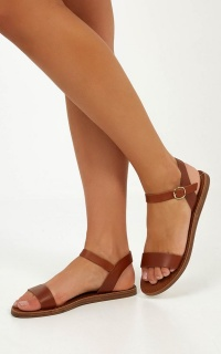 Windsor Smith - Keira Sandals In Tan Leather