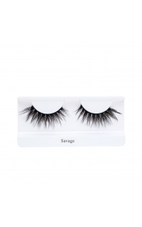 Land of Lashes - Invisible Band Faux Mink In Savage