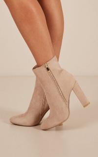 Billini - Lori Boots in stone micro