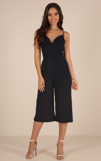 Good Choice jumpsuit in navy
