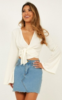 Pure Shores Top In White