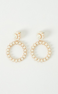 Rein It In Earrings In Pearl