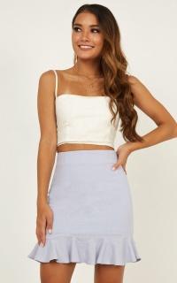 Something To Love Skirt In Blue