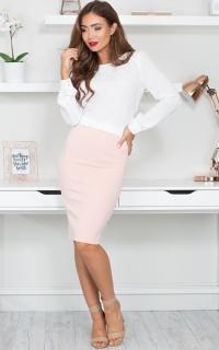 Shipshape Skirt in Blush