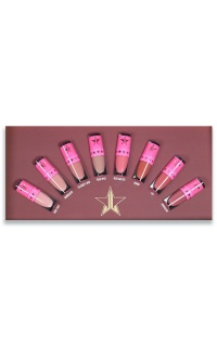 Jeffree Star Cosmetics - The Mini Velour Liquid Lipsticks Nudes - Volume One