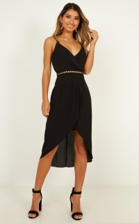 Because You Love Me Dress In Black