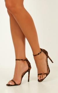 Billini - Andi Heels In Leopard
