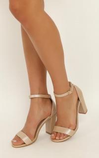 Billini - Aurella Heels In Nude Pearl