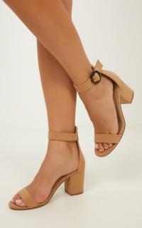 Billini - Chios Heels In Camel Nubuck