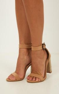 Billini - Fedora Heels In Camel Nubuck