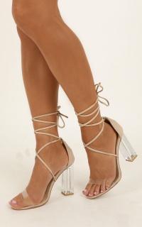 Billini - Imaan Heels In Nude Micro