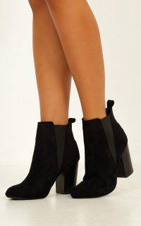 Billini - Jonte Boots In Black Micro