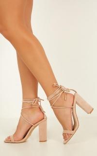 Billini - Oria Heels In Blush Micro