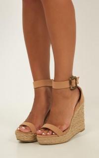 Billini - Skiathos Heels In Camel Nubuck