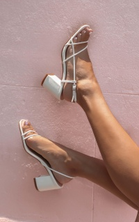 Billini - Yakima Heels In White