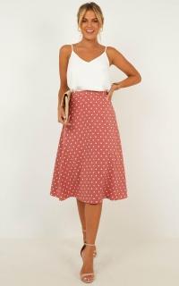 Breakthrough Skirt In Blush Spot